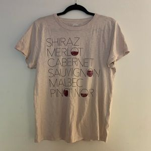 J.Crew | Wine Cotton Shirt Large